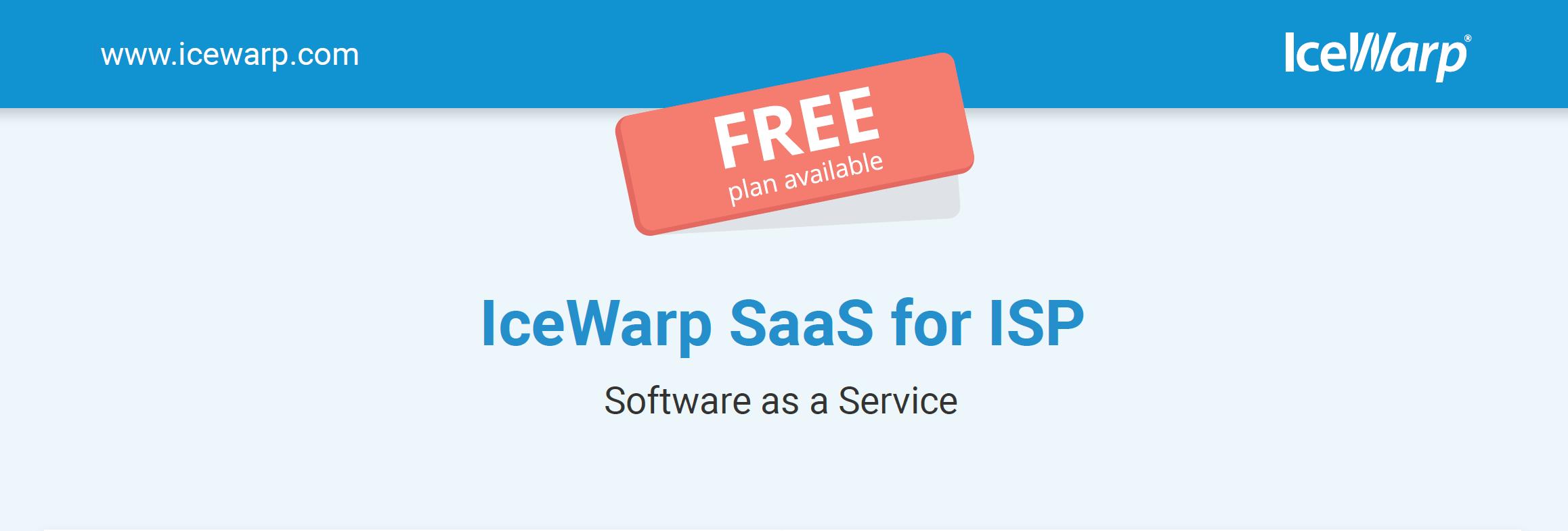 IceWarp ISP SaaS
